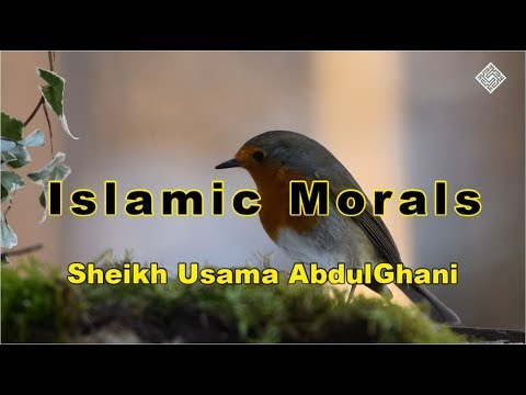 [Clip] Islamic Morals | Shaykh Usama Abdulghani - English