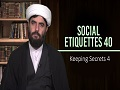 Social Etiquettes 40 | Keeping Secrets 4 | Farsi Sub English